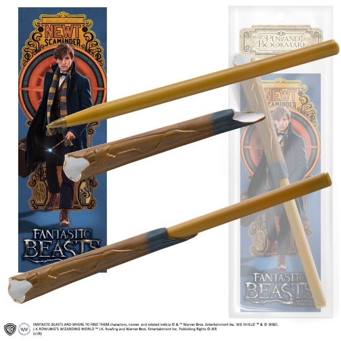 Newt Scamander Wand Pen and Bookmark | Buy now at The G33Kery - UK Stock - Fast Delivery